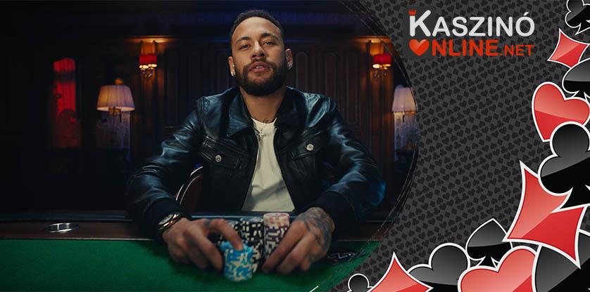 Neymar Jr. és a póker