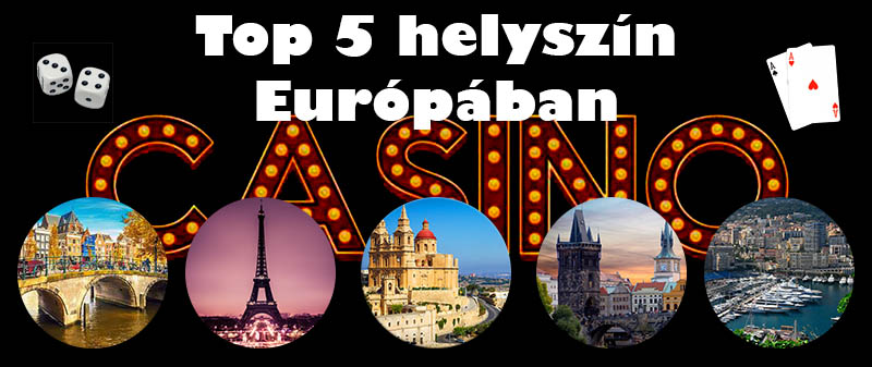Top 5 gambling destinations